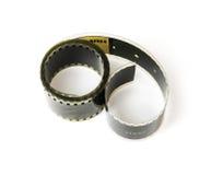Isolerat 8mm filmband Arkivbilder