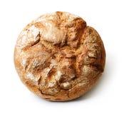 Isolerat nytt bröd Fotografering för Bildbyråer