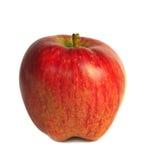 Isolerat nytt rött äpple Royaltyfria Bilder