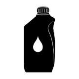 Isolerat olje- gal. vektor illustrationer
