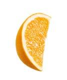isolerat orange moget Royaltyfri Bild