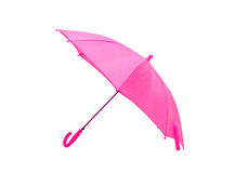 isolerat paraply Royaltyfri Fotografi