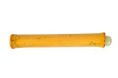 Isolerat Shaker Bamboo slagverk Royaltyfria Foton