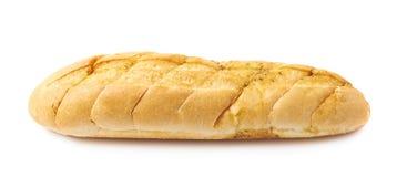 Isolerat vitt bröd för italiensk ciabatta royaltyfri bild