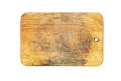 isolerat vitt trä för bakgrundsbräde cutting royaltyfri bild