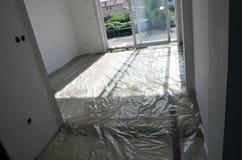 Isolering av golvet Royaltyfria Bilder