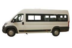 Isolering av passagerarebussen Arkivbild