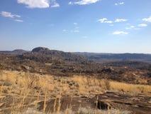 Isolering i Matobo kullar, Zimbabwe Royaltyfri Fotografi