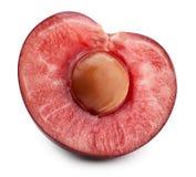 isoleringswhite för 100 Cherry arkivbild