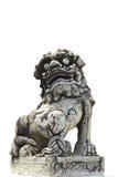 Chinesische angeredete Geschöpfstatue stockbilder