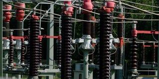 Isolierung des elektrischen statio Lizenzfreie Stockbilder