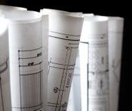 Isolierung einiger Zeichnungen für das Projekt Lizenzfreies Stockbild