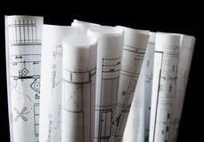 Isolierung einiger Zeichnungen für das Projekt Lizenzfreie Stockfotografie