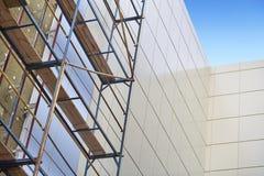 Isolierung von Fassaden Lizenzfreies Stockfoto