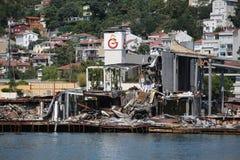 Isolotto di Galatasaray a Costantinopoli Immagini Stock