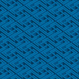 Isometric άνευ ραφής σχέδιο Στοκ φωτογραφία με δικαίωμα ελεύθερης χρήσης