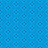 Isometric άνευ ραφής σχέδιο Στοκ Εικόνες
