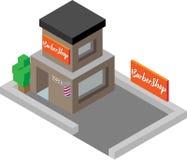 Isometric απεικόνιση Barbershop ελεύθερη απεικόνιση δικαιώματος