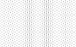 Isometric γραμμές πλέγματος διανυσματική απεικόνιση