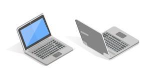 Isometric διανυσματικό σύνολο lap-top Στοκ φωτογραφία με δικαίωμα ελεύθερης χρήσης