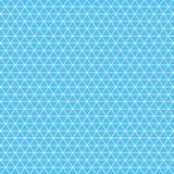 Isometric λευκό πλέγματος σε ένα μπλε υπόβαθρο Στοκ φωτογραφία με δικαίωμα ελεύθερης χρήσης