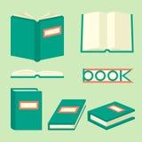 Isometric σημάδια και σύμβολα βιβλίων Στοκ Φωτογραφίες
