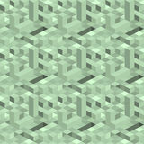 Isometric σύνθεση από το τετράγωνο, ορθογώνιο διανυσματική απεικόνιση