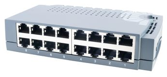 isometric όψη διακοπτών δικτύων Στοκ Εικόνα
