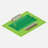Isometric american football field Stock Photos