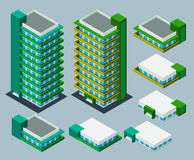 Isometric apartment Royalty Free Stock Photos