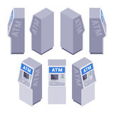 Isometric ATM Royalty Free Stock Images