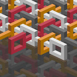 Isometric background Royalty Free Stock Images