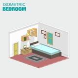 Isometric bedroom Stock Photo