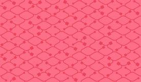 Isometric bezszwowy wzór Netto linii tło Obrazy Stock