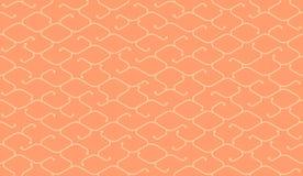 Isometric bezszwowy wzór Netto linii tło Obraz Royalty Free