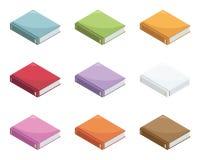 Isometric books Royalty Free Stock Photo