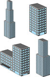 Isometric building Stock Image