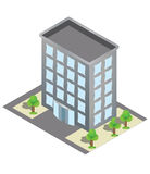 Isometric building Stock Photos