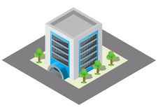 Isometric building Royalty Free Stock Images