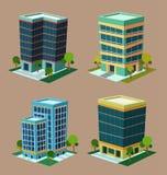 Isometric Building Stock Photos
