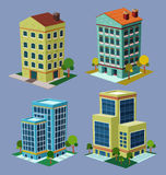 Isometric Building Royalty Free Stock Photo