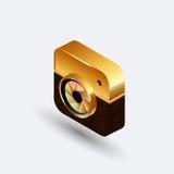 Isometric camera2 ilustracja wektor