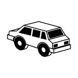 Isometric car isolated icon Stock Image