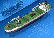 Isometric cargo ship Royalty Free Stock Photography