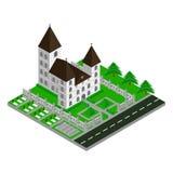 Isometric Church Royalty Free Stock Image