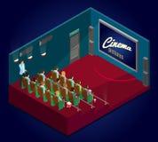 Isometric Cinematography Concept Royalty Free Stock Photos