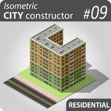 Isometric city constructor - 09 Stock Photos