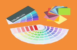 Isometric color guides Stock Photos