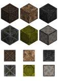 Isometric crates Royalty Free Stock Photo