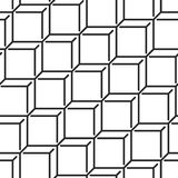Isometric cube pattern Stock Photography